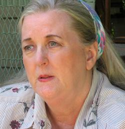 Author Jincy Willett.