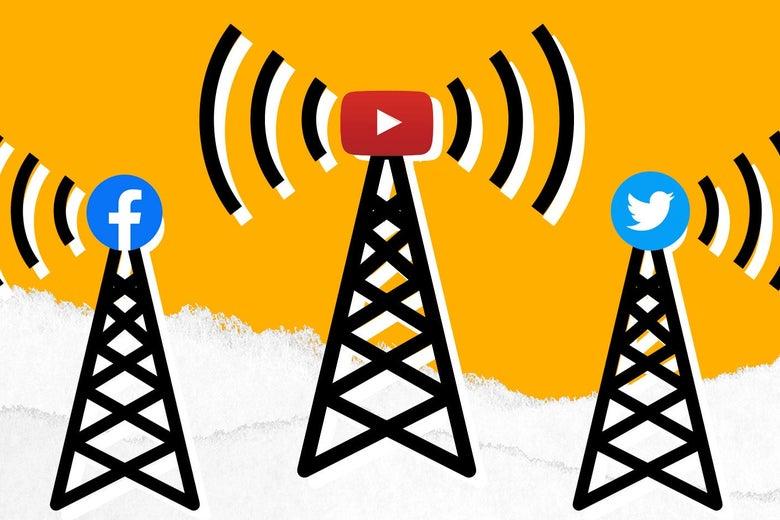 social media platforms as broadcasters