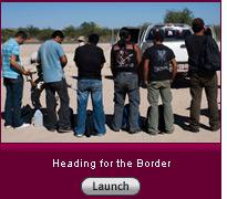 Click here to launch a slide show on heading for the border.
