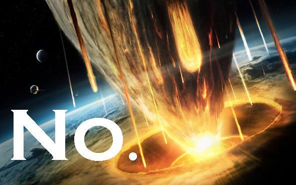 no asteroid impact