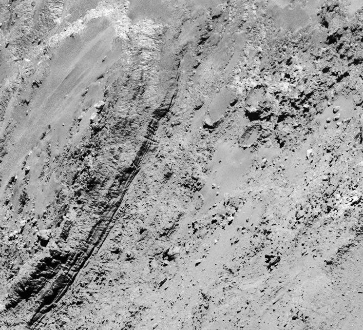 comet surface