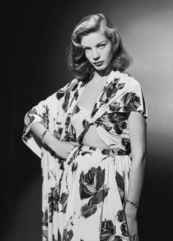 Lauren Bacall circa 1945.