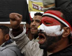 Egypt protesters. Click image to expand.