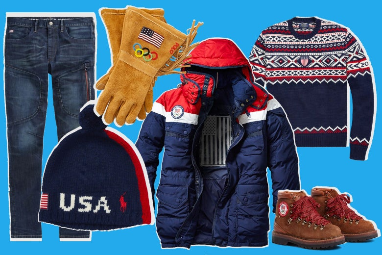 Ralph Lauren Team USA Olympic attire for 2018