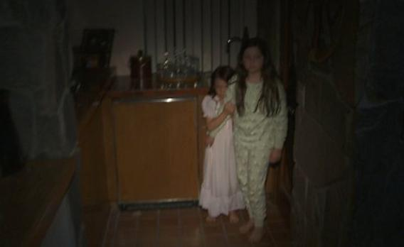 Katie and Kristi Rey in Paranormal Activity 3.