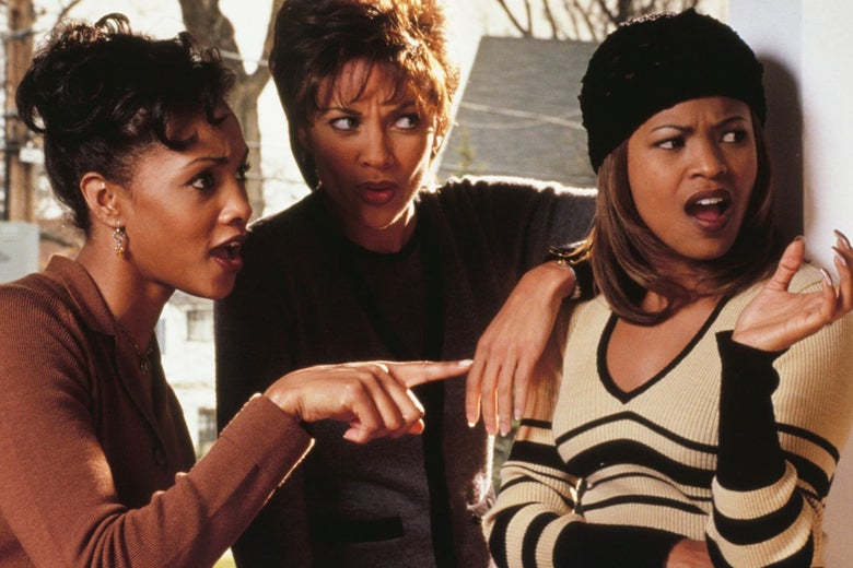 Vivica A. Fox, Nia Long, and Vanessa Williams.