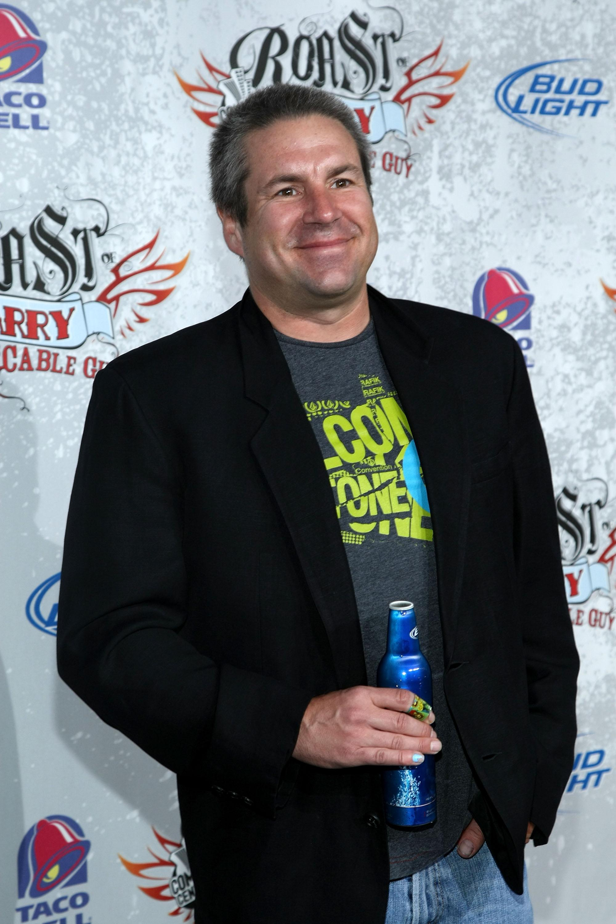 John Melendez arrives for the Comedy Central Roast Of Larry The Cable Guy at the Warner Brother Studio Lot on March 1, 2009 in Burbank.