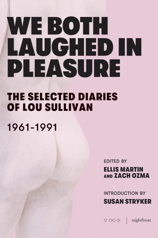 We Both Laughed in Pleasure book cover.