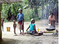 Liberian refugees in Yeouli