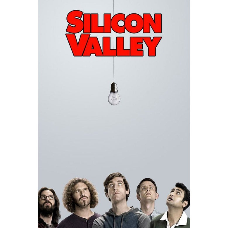 Silicon Valley poster.