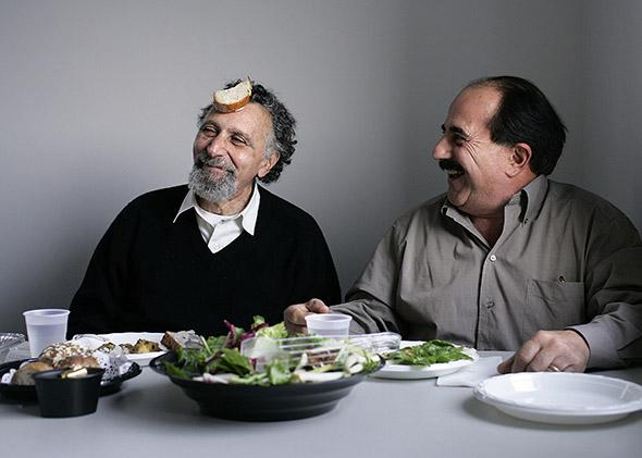 Tom and Ray Magliozzi (Tom is on left with beard; Ray is on right with mustache), better known as Click and Clack are the co-hosts of the nationally syndicated talk show, Car Talk. .