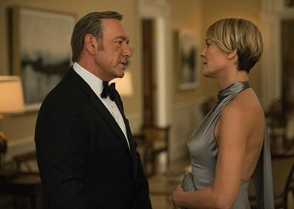 "Season 3 of Netflix's ""House of Cards."""