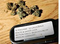 Medicinal marijuana. Click image to expand.