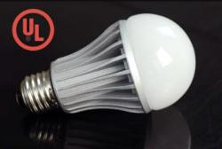 HitLights dimmable 8W LED warm white globe bulb.