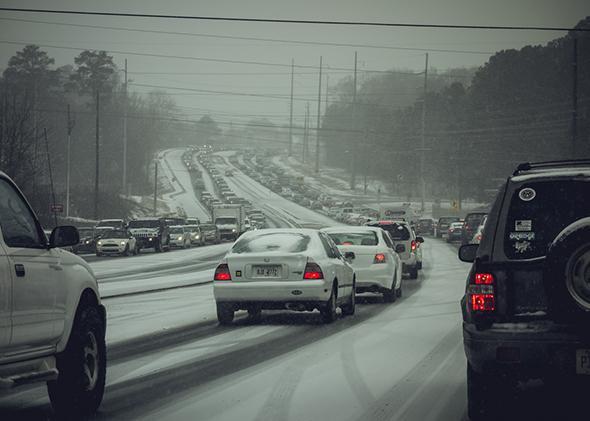 Snowpocalypse in Atlanta