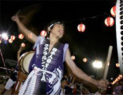 Bon Odori dance festival. Click image to expand.