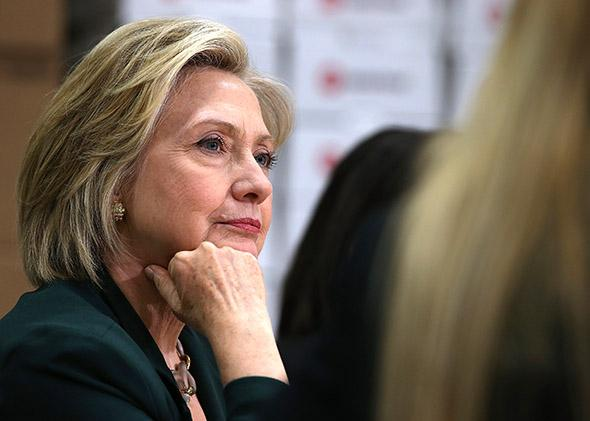 Democratic presidential hopeful and former Secretary of State Hi,Democratic presidential hopeful and former Secretary of State Hillary Clinton.