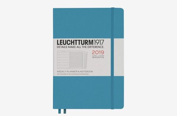 Leuchtturm1917 A5 Medium 18 Months Weekly Planner.