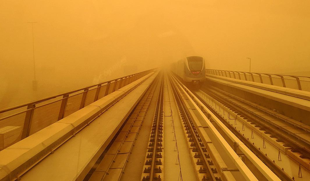Dubai Sandstorm, April 2015