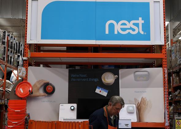 Google's acquisition of Nest is not just about thermostats and smoke detectors.
