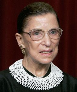 Justice Ruth Bader Ginsburg. Click image to expand.