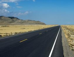 A paved road. Click image to expand.