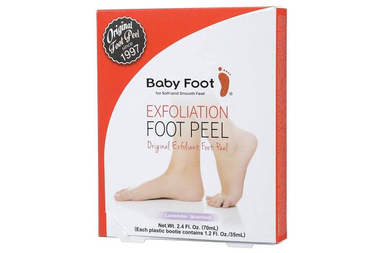 Foot peel box
