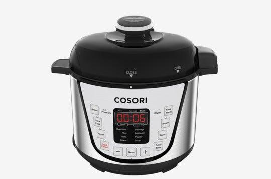 Cosori Mini 2.1 Qt 7-in-1 Multi-Functional Programmable Pressure Cooker.