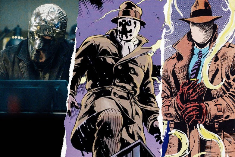 Looking Glass, Rorschach, and the Question