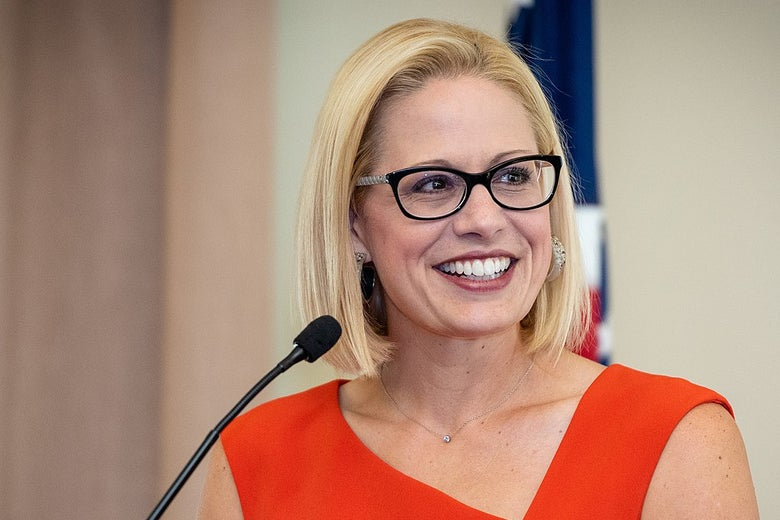 Democrat Rep. Kyrsten Sinema seen here in a photo handout from the U.S. U.S. House of Representatives.