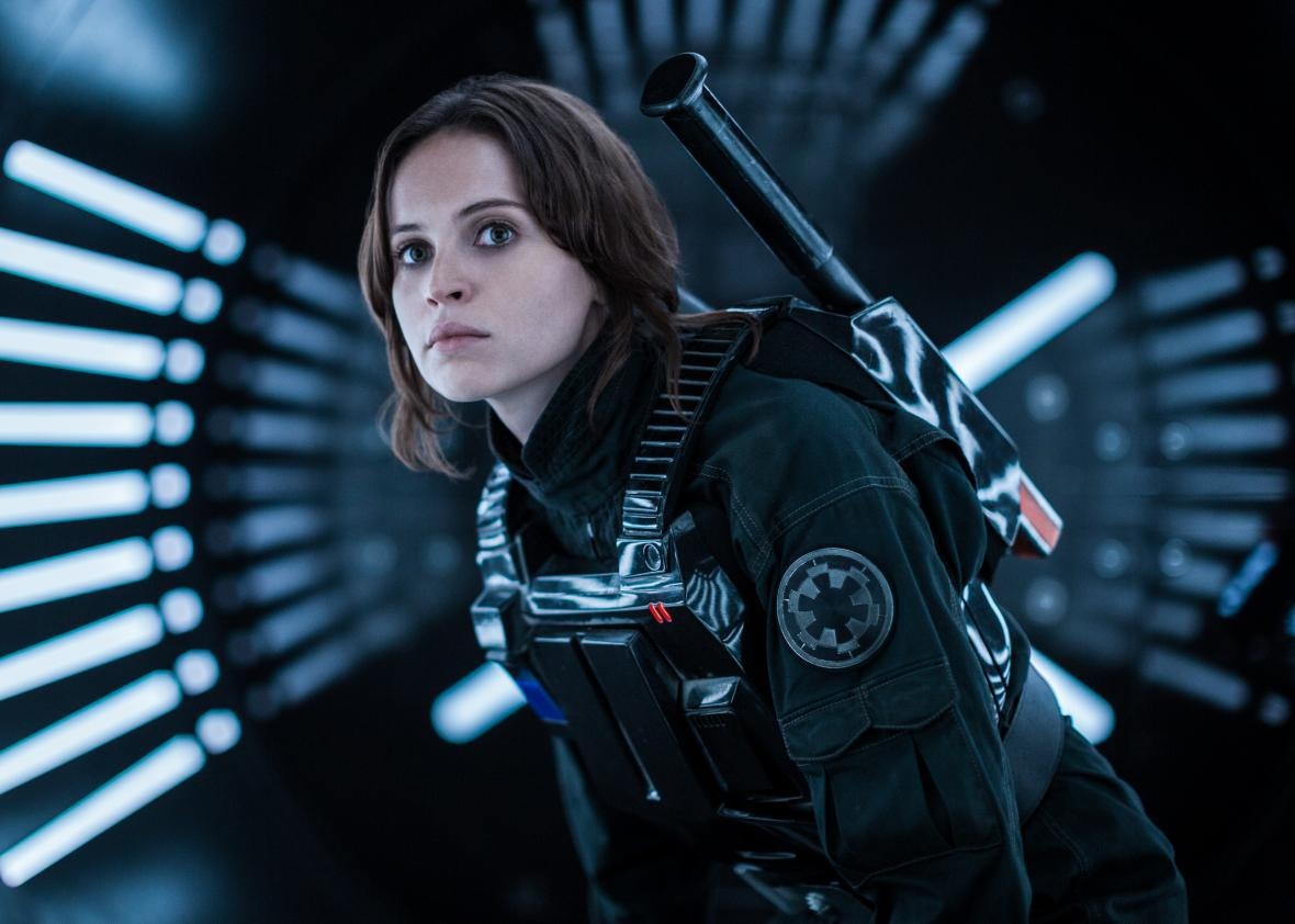 8d8e7e3ce45c Jyn Erso Is Another Worthy Star Wars Heroine. But Where Are the Rest of the  Women in Rogue One