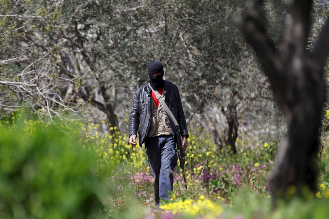March 22, 2015: Idlib, Syria