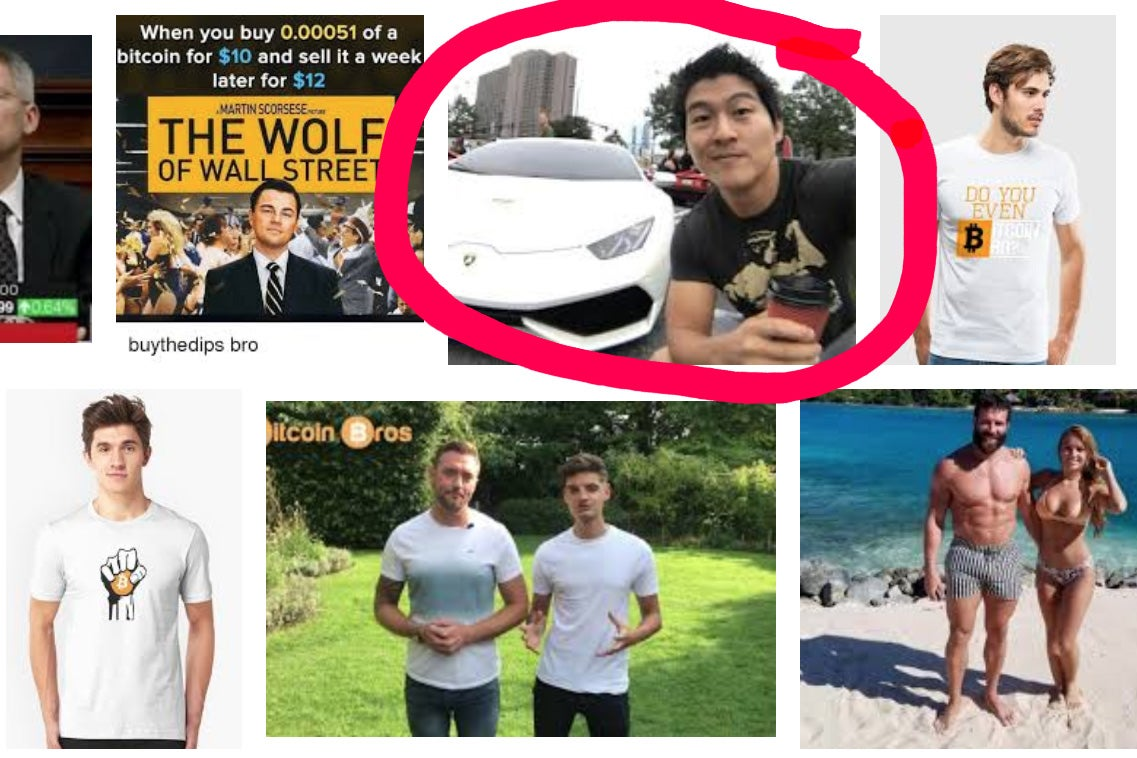 "Image search results for ""bitcoin bro"""