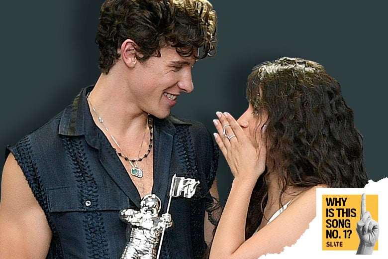 Shawn Mendes and Camila Cabelo on Aug. 26 in New Jersey
