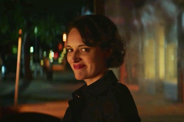 Phoebe Waller-Bridge smiling at the camera.