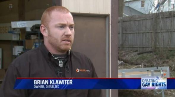 Michigan mechanic Brian Klawiter's anti-gay rant: Are nuts and bolts