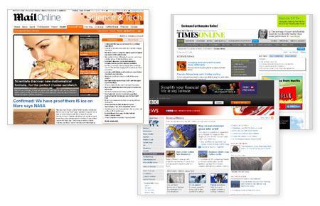 Science news sites