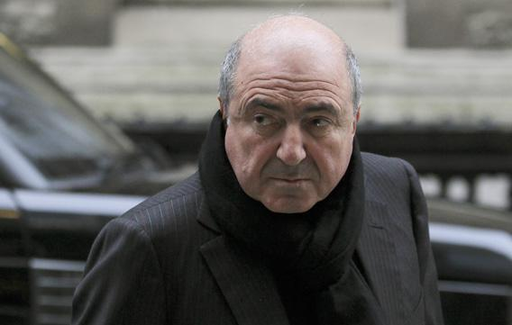 Russian oligarch Boris Berezovsky arrives at a division of the High Court in central London December 19, 2011.