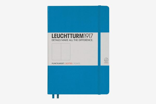 Leuchtturm1917 Medium A5 Dotted Hardcover Notebook