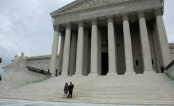 U.S. Supreme Court building in 2009. Click image to expand.
