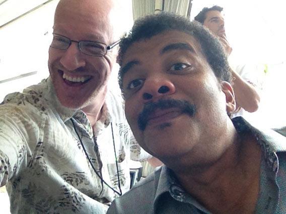 Neil Tyson and Phil Plait