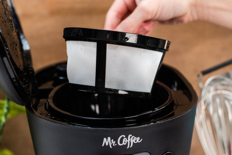 The filter basket on the Easy Measure