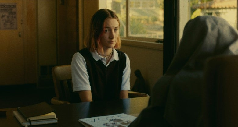 Lois Smith and Saoirse Ronan in Lady Bird