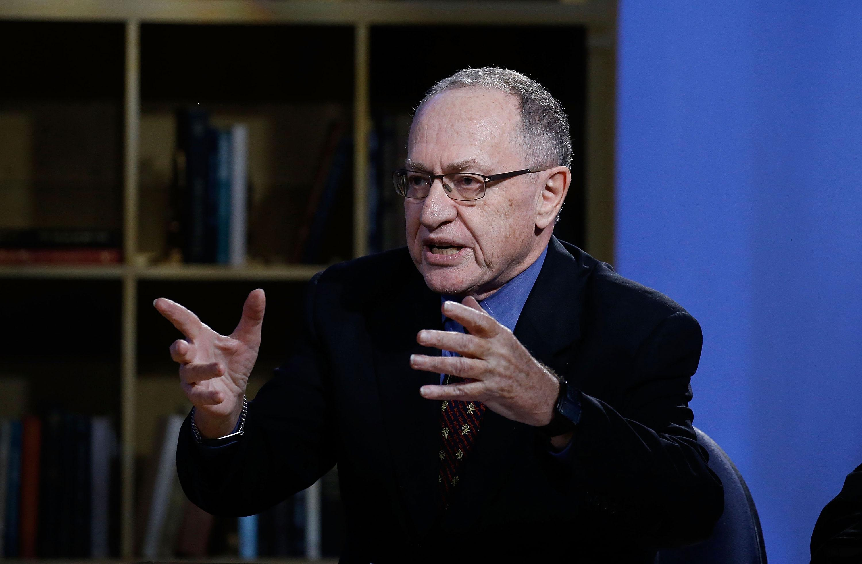 Alan Dershowitz at an event on Feb. 3, 2016, in New York City.