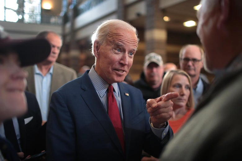 Joe Biden's campaign was caught plagiarizing in June.