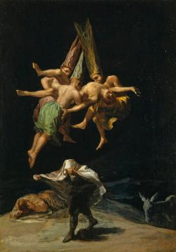 The Witches' Flight, by Francisco Goya.