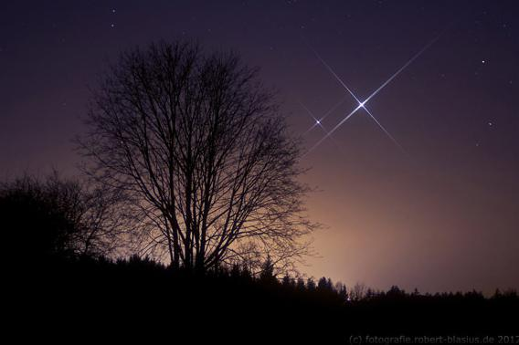 Venus and Jupiter by Robert Blasius