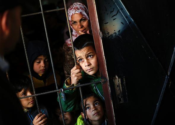 Syrian Refugees, in Sofia, Bulgaria 2013