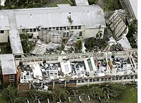 Damage from Cyclone Larry          Click image to expand.