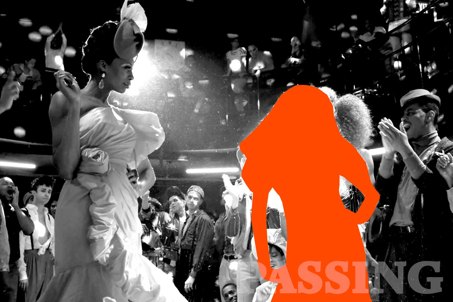 Two characters from Pose compete in a ball.